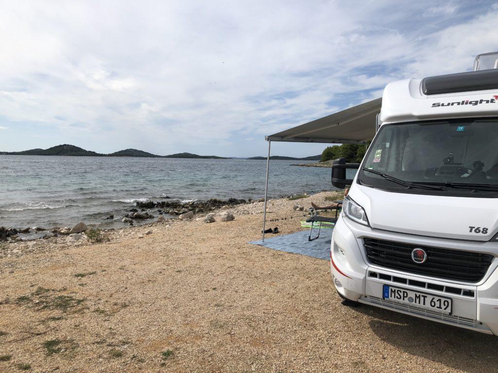 Mit dem Wohnmobil durch Kroatien 2019 - Dies war die erste grosse Reise 37