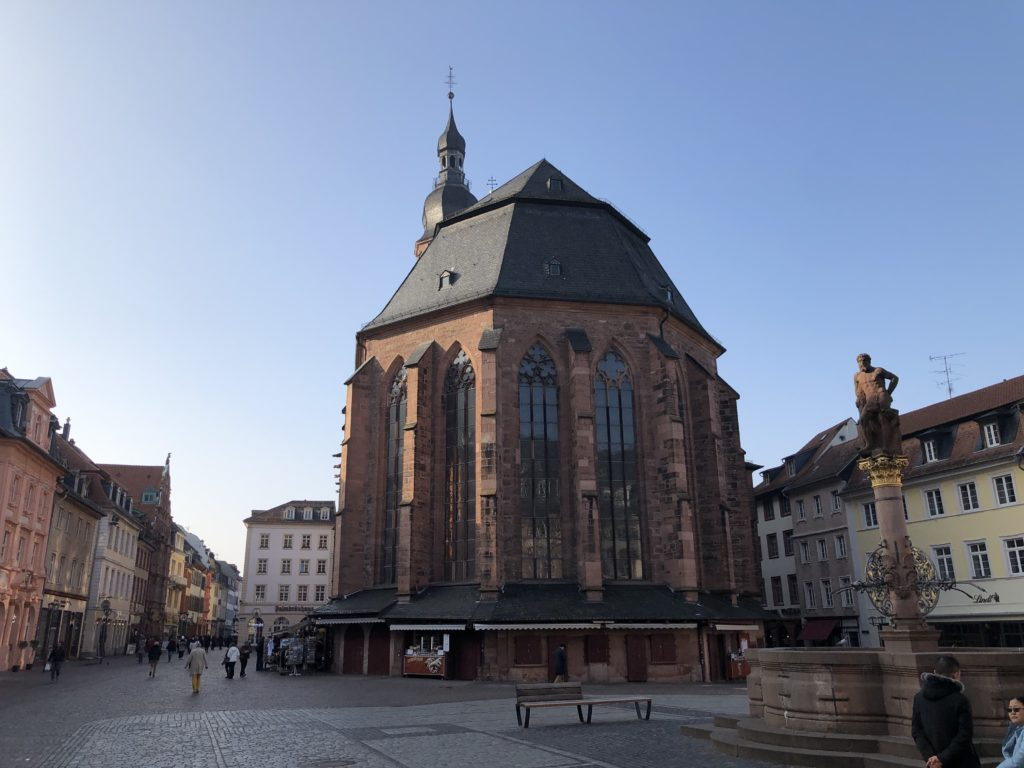Auf den Spuren des Heidelbär - Mit dem Wohnmobil nach Heidelberg 11