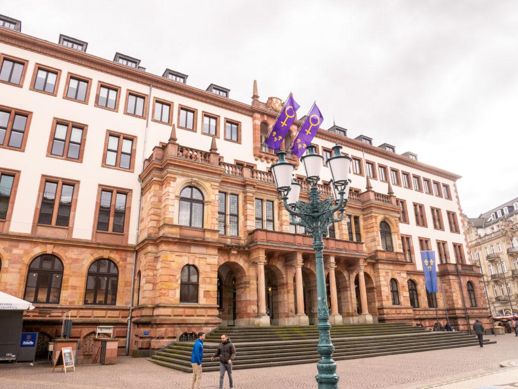 Wohnmobil Wiesbaden Städtetrip