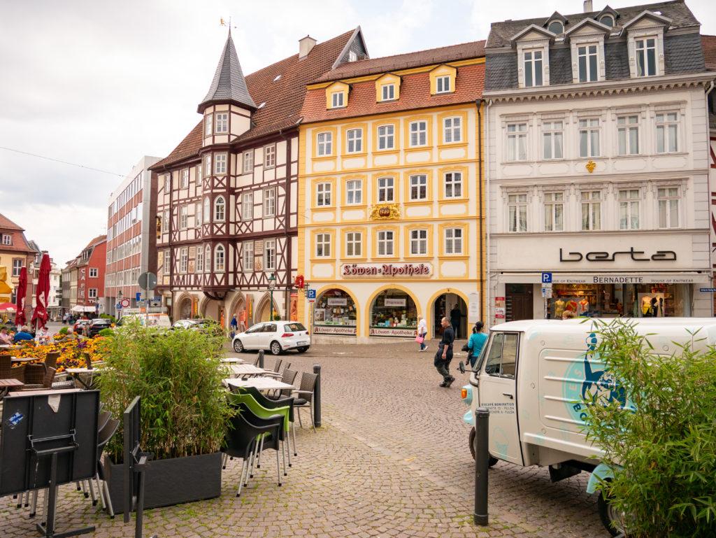 Fulda Innenstadt Wohnmobil