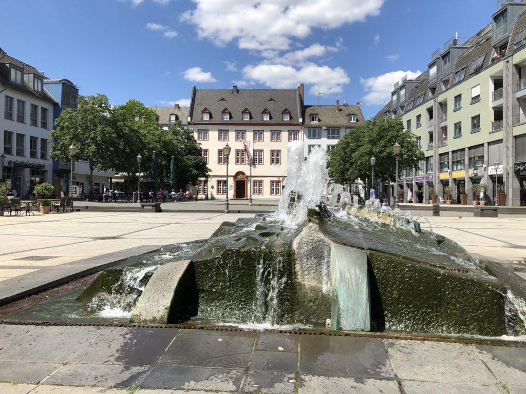 Stadt Koblenz mit dem Wohnmobil