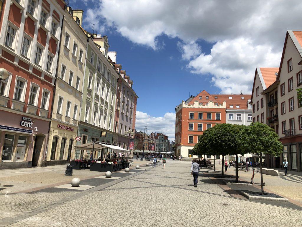 Breslau mit dem Wohnmobil