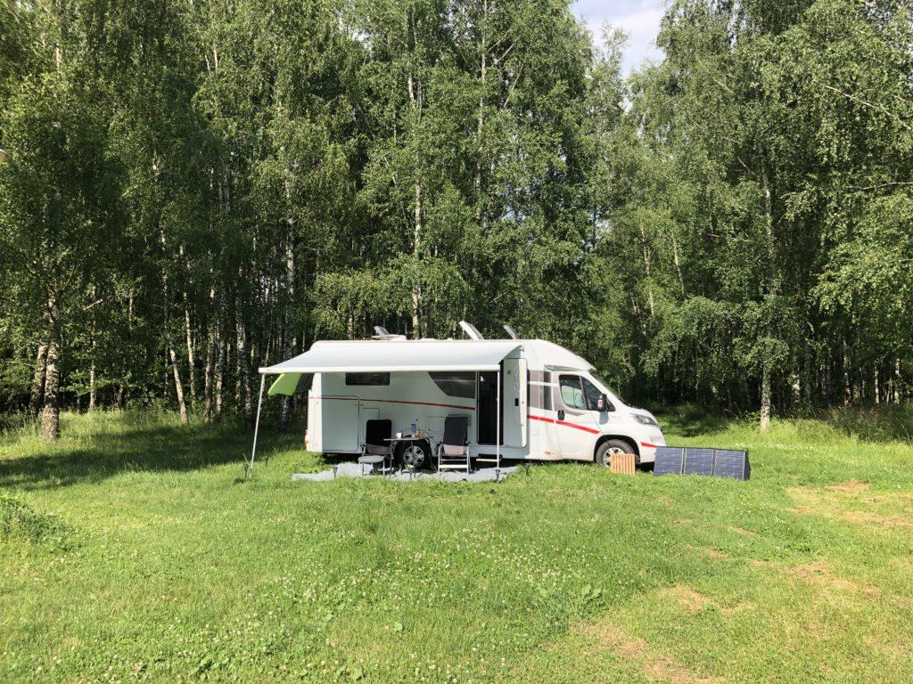 Camping Sonata mit dem Wohnmobil