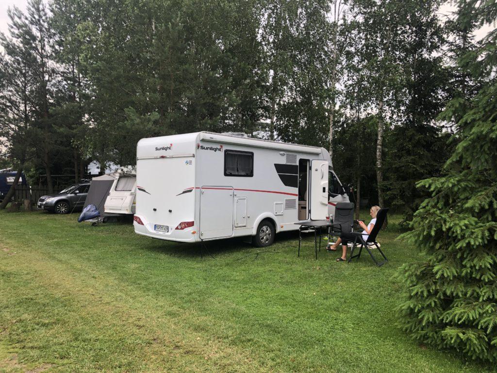 Camping Białowieża-Nationalpark