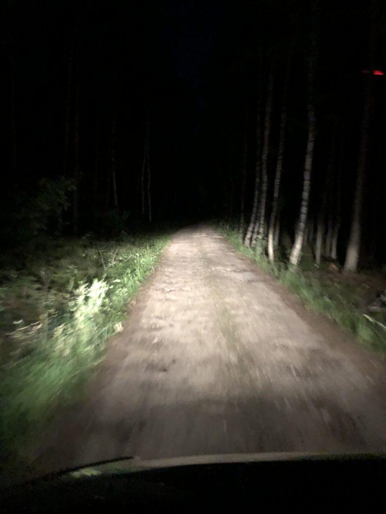 Nachts im Wohnmobil