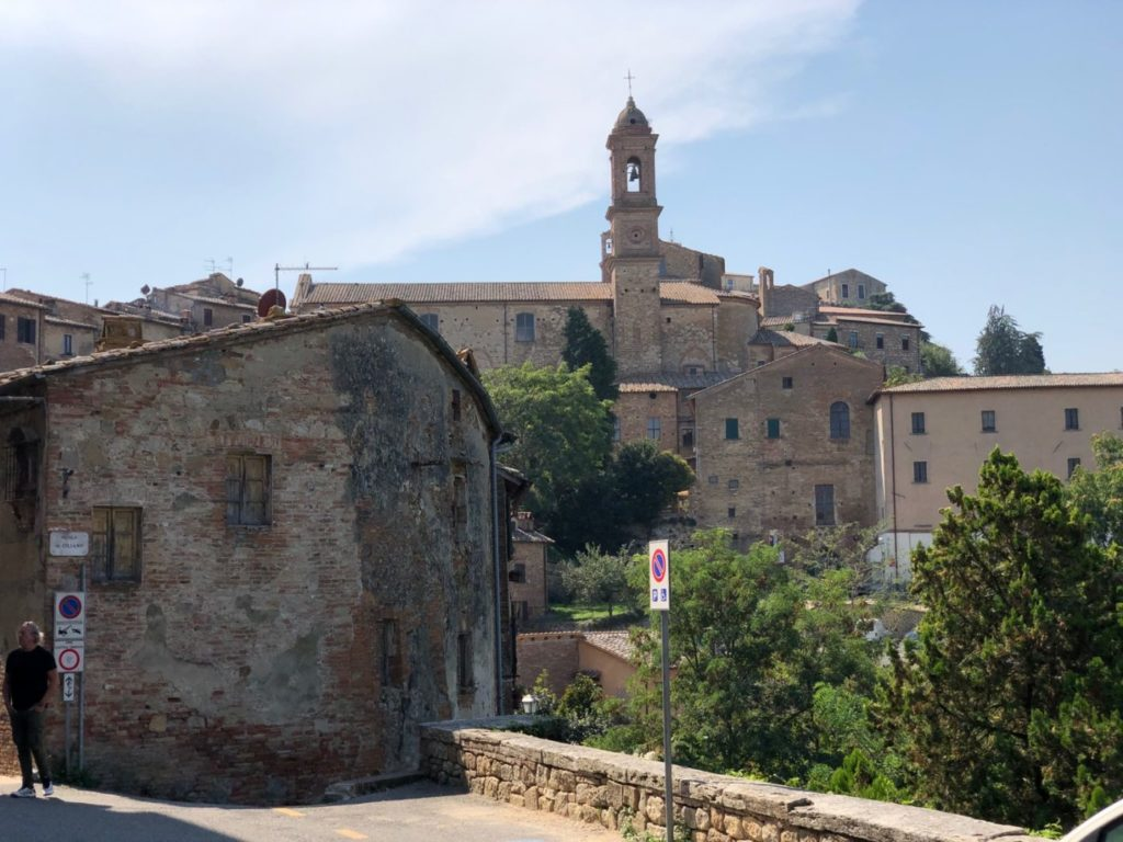 Montepulciano mit dem Wohnmobil