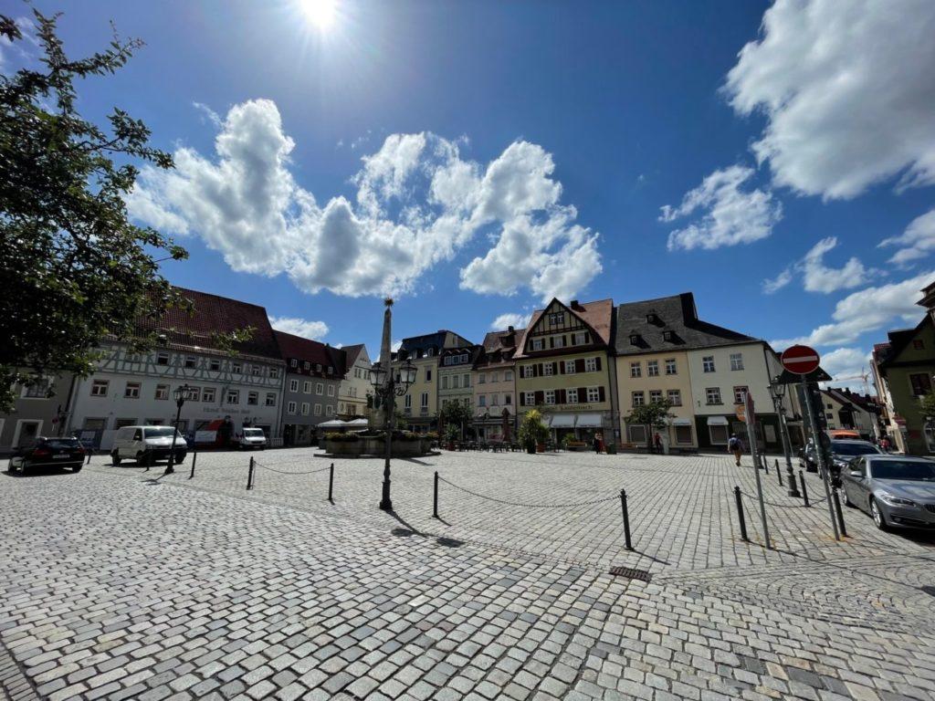 Kulmbach mit dem Wohnmobil